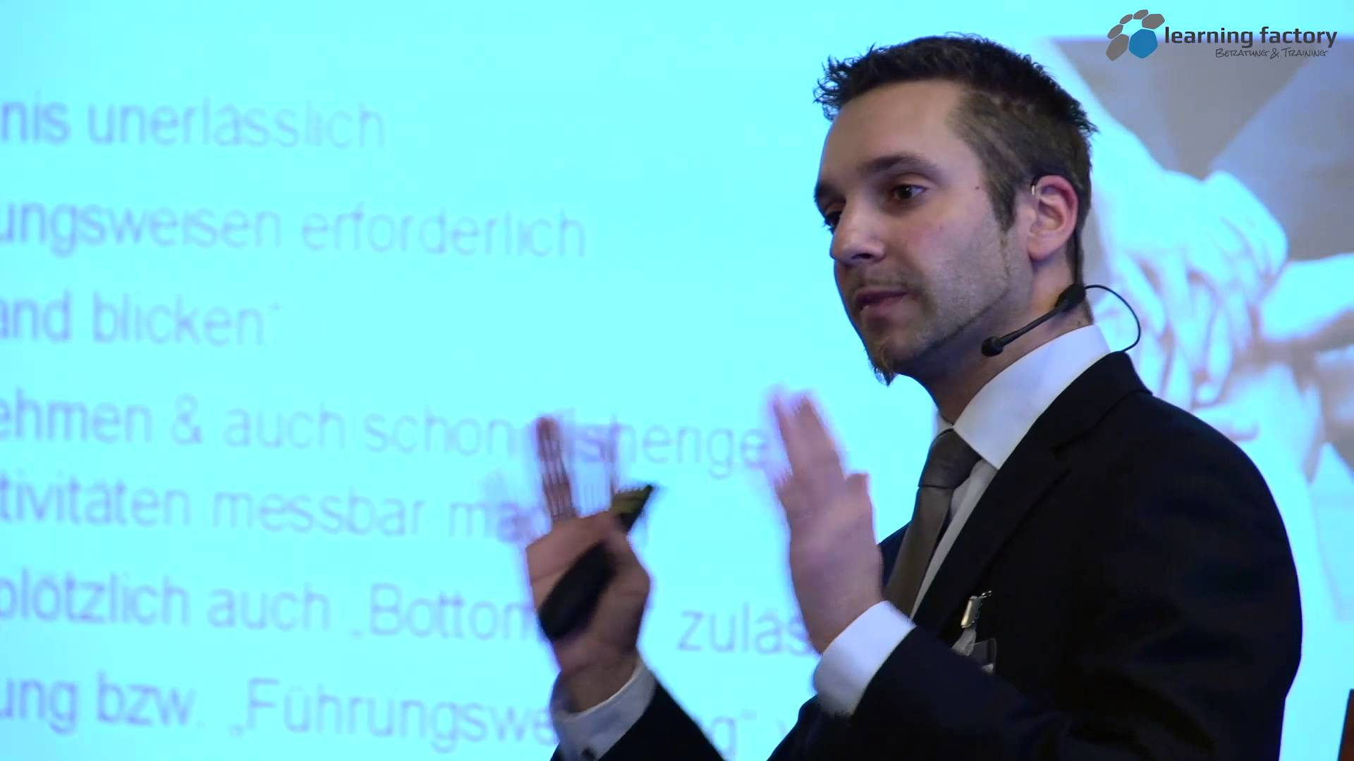 KVP: Scheitern oder Erfolg, ein schmaler Grat Vortrag von Martin Fahrenberger