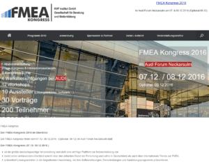 FMEA Kongress 2016