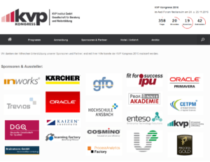 KVP Kongress 2015 Sponsoren