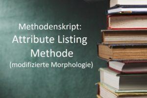 Methodenskript Attribute Listing