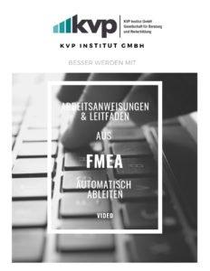 Arbeitsanweisungen aus FMEA Auotmatisch ableiten 8