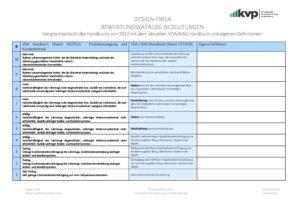 DESIGN FMEA Kriterien der Bedeutung mit Vergleichsansicht 07_19 3