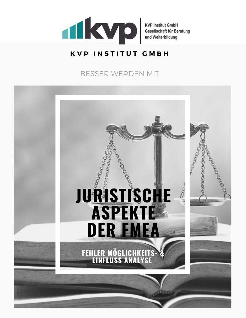Juristische Aspekte der FMEA