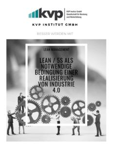5S und Industrie 4.0