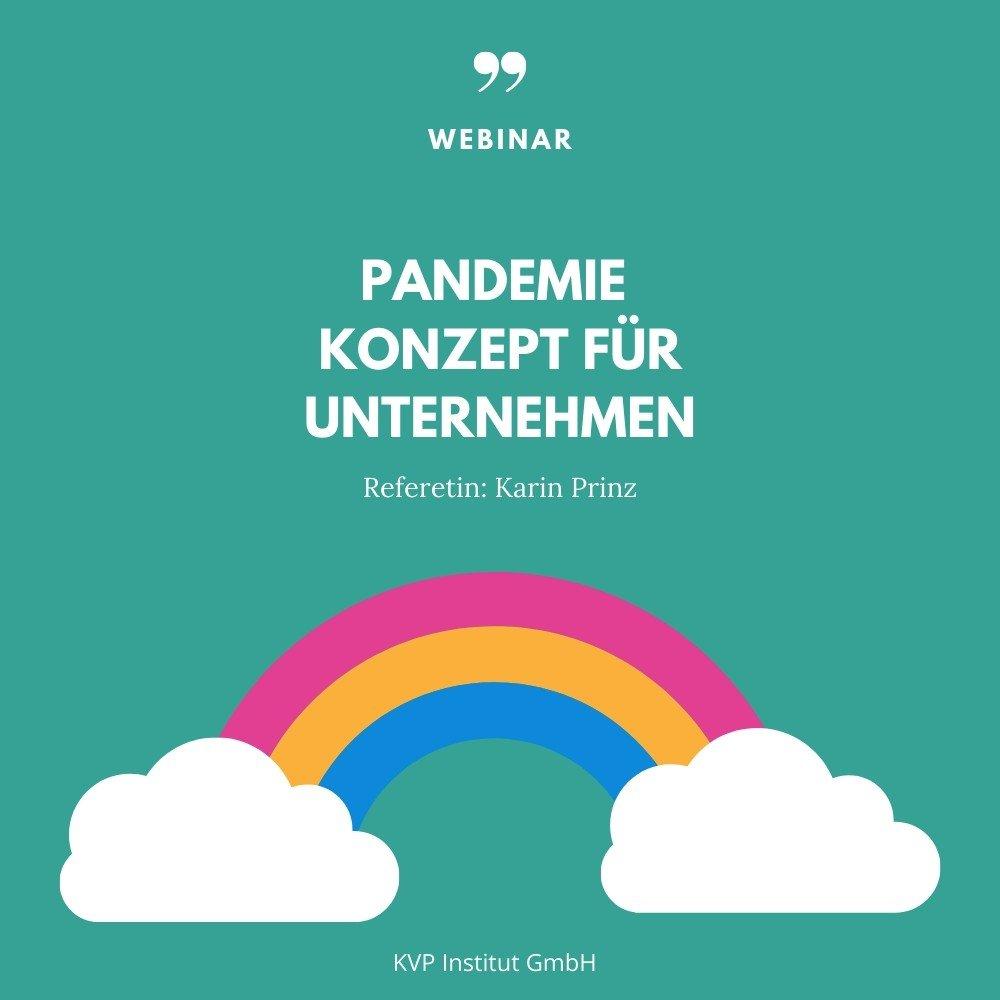 Webinar: Pandemie Konzept für Unternehmen